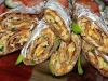 Тонкие очень вкусные печёночные блинчики с начинкой