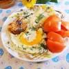 «Гренки с яйцом и пармезаном»